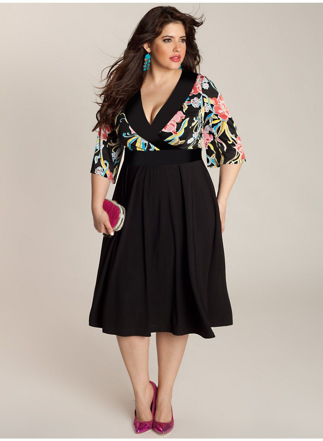 Beautiful dresses for plus size