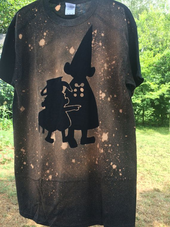 Over The Garden Wall Bleach Art Shirt by SavvySnorlax on Etsy