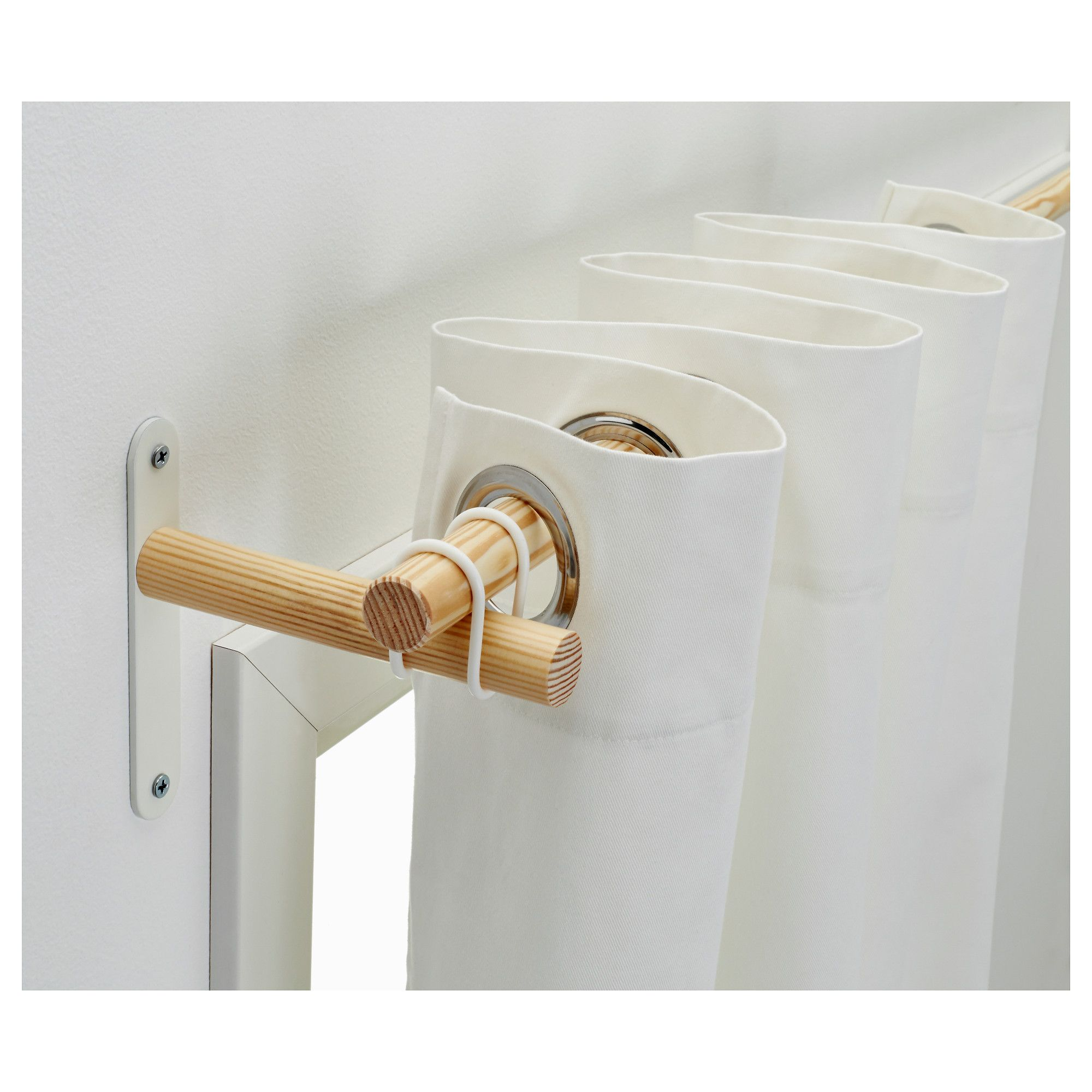 Us Furniture And Home Furnishings Ikea Diy Curtains Diy Curtain Rods