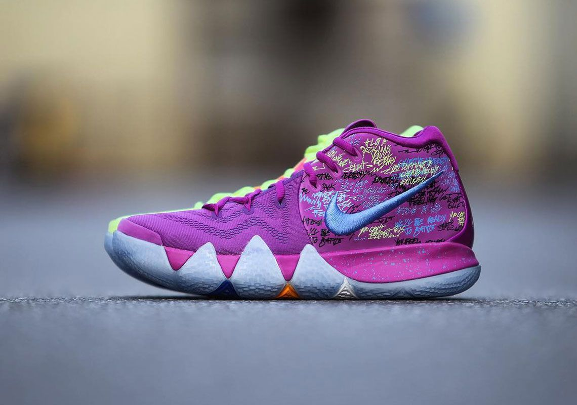 official photos 53850 03d1e Nike Kyrie 4 Confetti - Release Date + Photos | SHOES ...