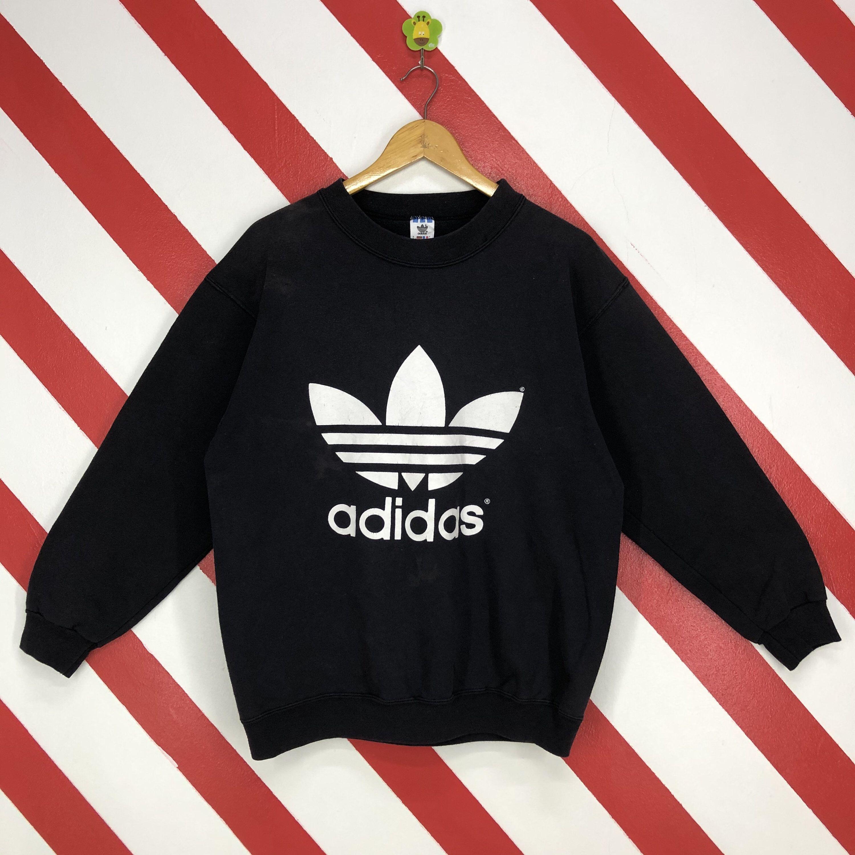 Vintage 90s Adidas Sweatshirt Adidas Crewneck Adidas Trefoil Etsy Vintage Adidas Adidas Sweatshirt Sweatshirts [ 3000 x 3000 Pixel ]