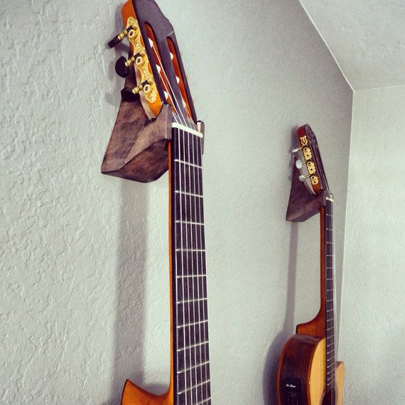 Hand Crafted Acoustic Guitar Hangers Christmas 2013