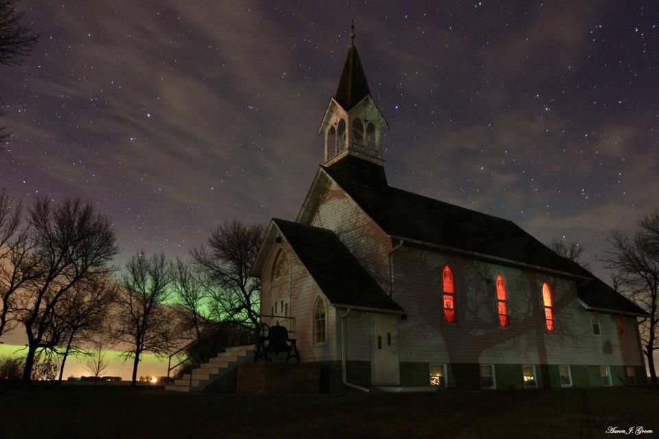 Ben Clare United Methodist Church ~  Valley  Springs, South Dakota. HomeGroen Photography