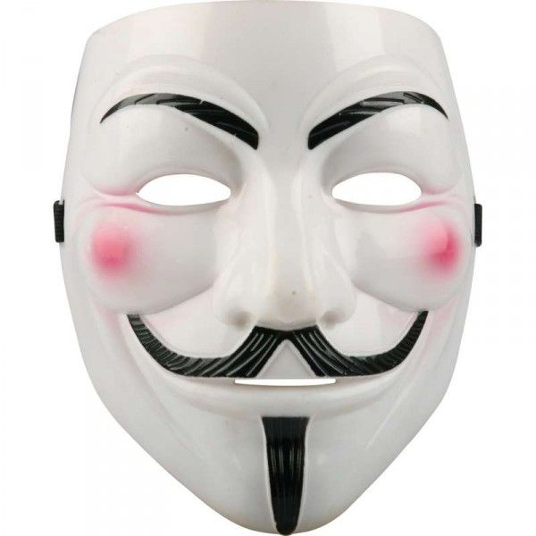 Anonymous Kostüm mit V wie Vendetta Maske, Guy Fawkes – Bild 2 ...