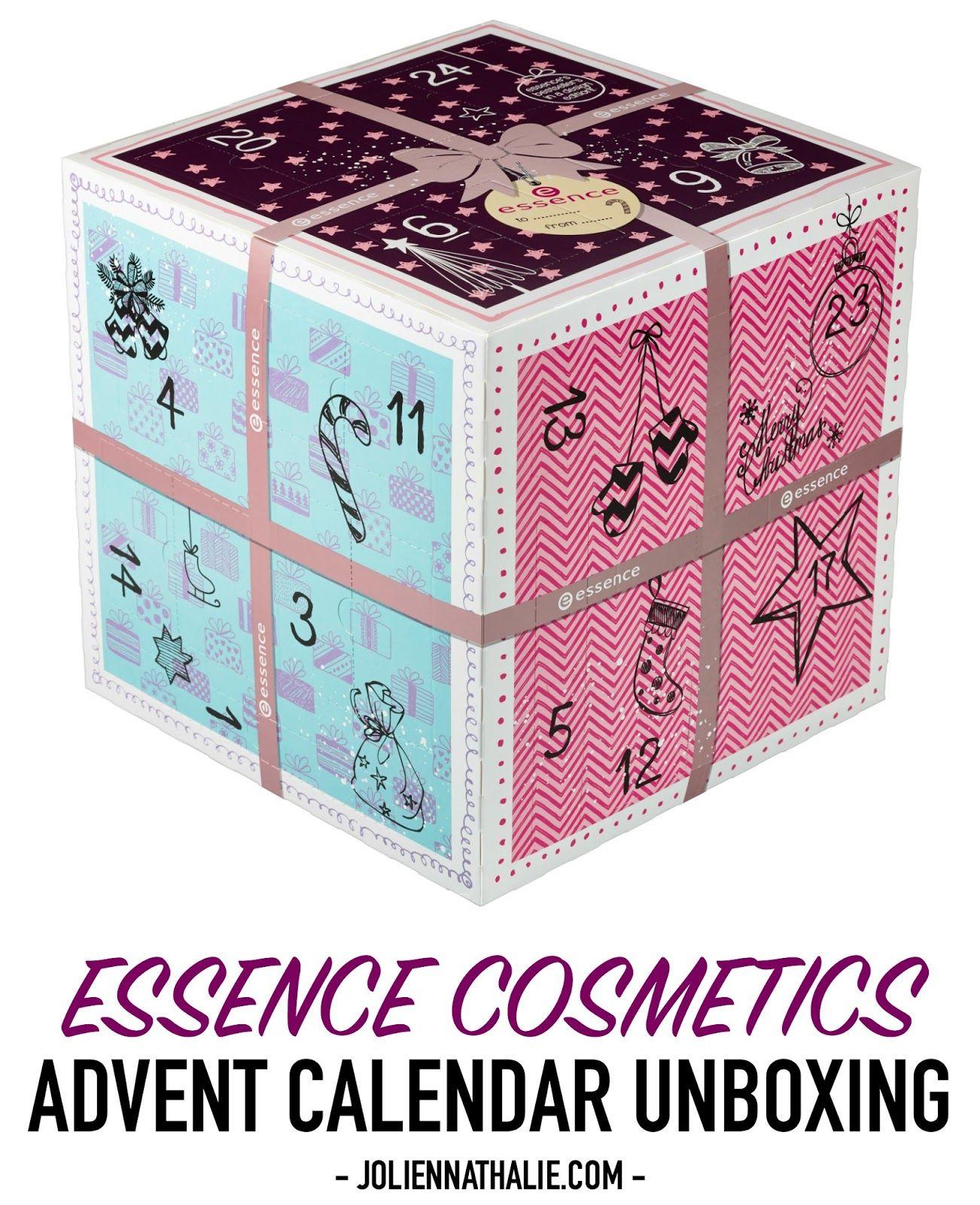 Essence Cosmetics Christmas Countdown ADVENT CALENDAR 2016 Unboxing ...