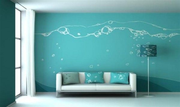 10 images about wall painting ideas on pinterest wall paint - Paint Design Ideas For Walls