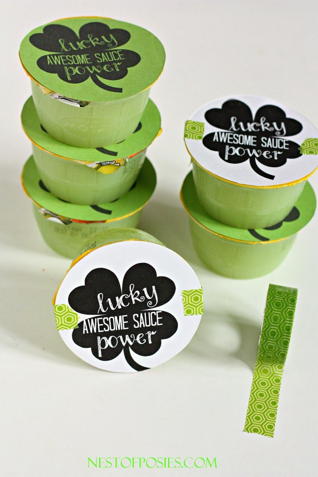 Free Snack Printable- Free St. Patrick\'s Day Printables | St Patty\'s ...