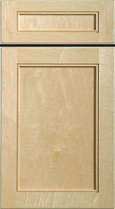 beaded flat panel door and drawer front maple dream kitchen rh pinterest com