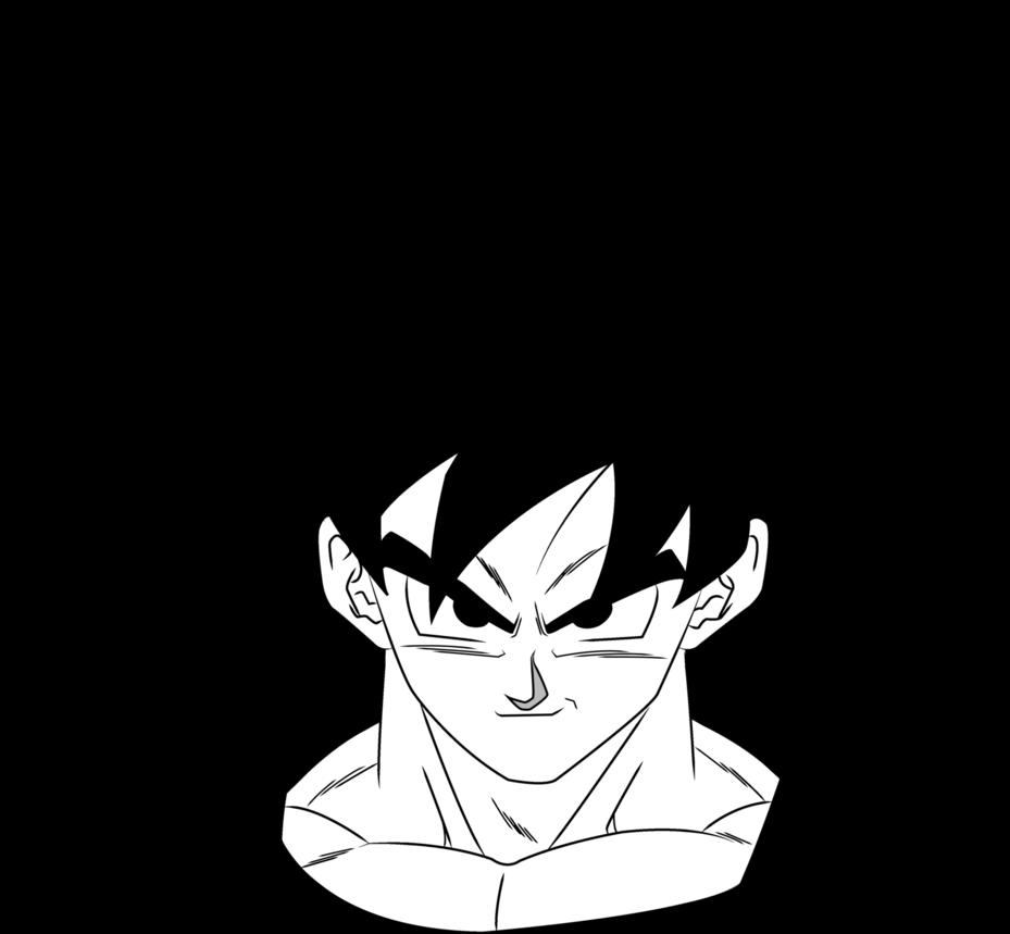 That Face Goku Drawing Goku Manga Goku Face