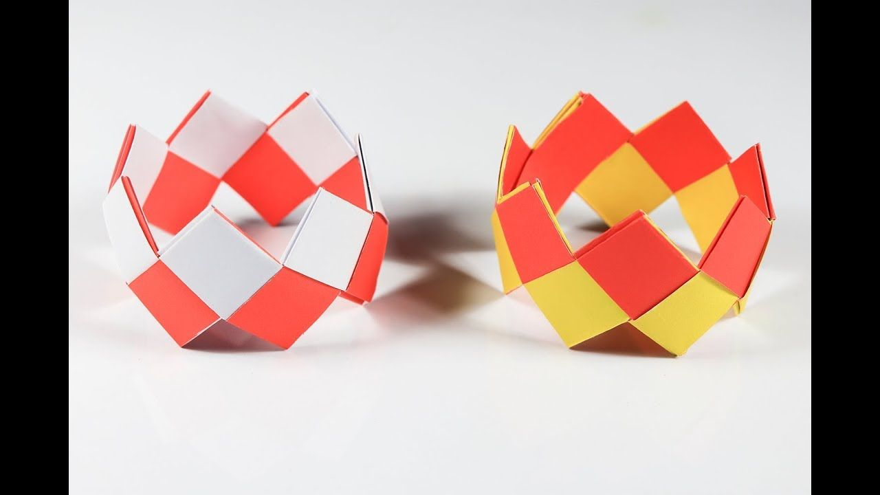 Easy Origami Bracelet Tutorial