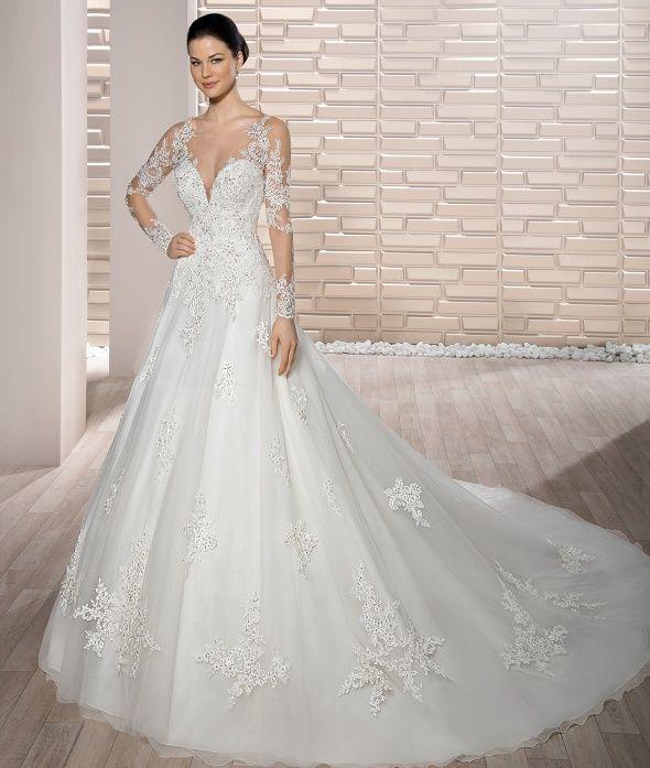 Dimitri Wedding Gowns: Demetrios 2017 - Style 727 #DemetriosBride