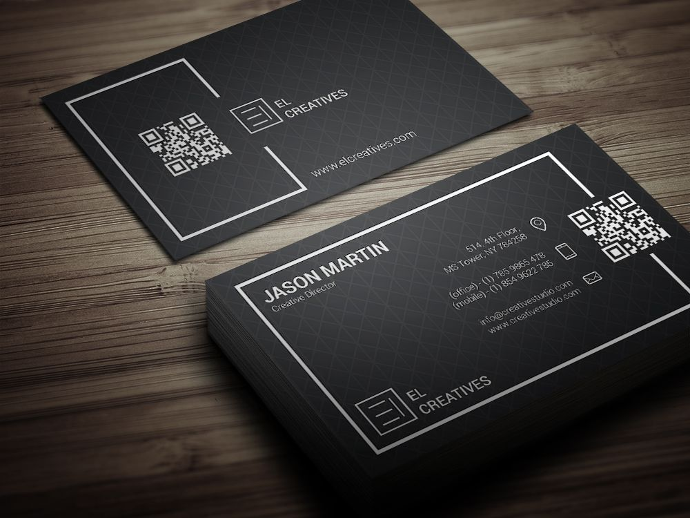Corporate Simple Business Card Graphic Design Business Card Elegant Business Cards Design Elegant Business Cards
