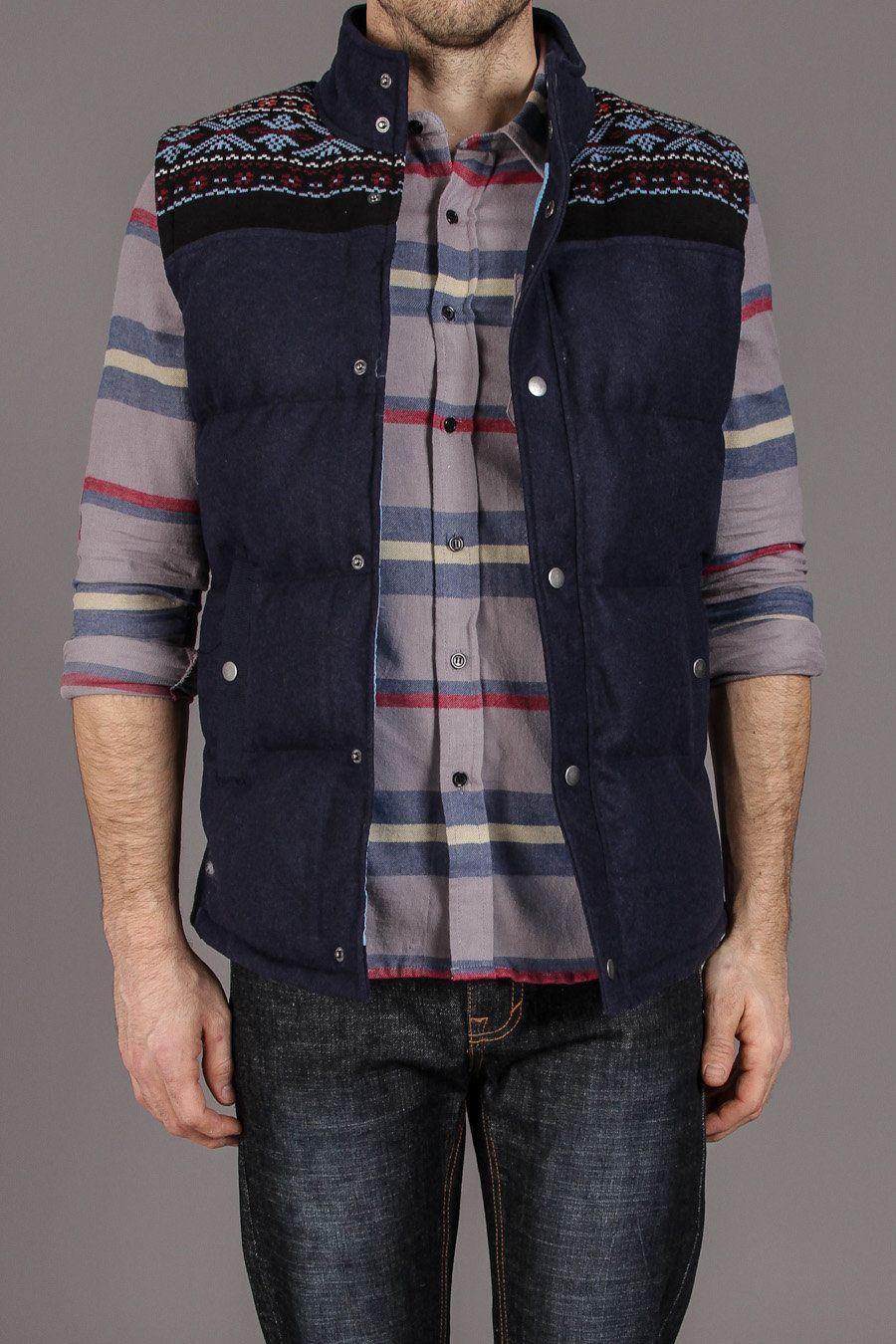 DStruct Elkin Vest Mens outfits, Gentleman style, Men