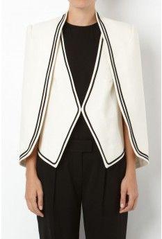 5d1586cc22 sass   bide - THIS IS POP capelet vest