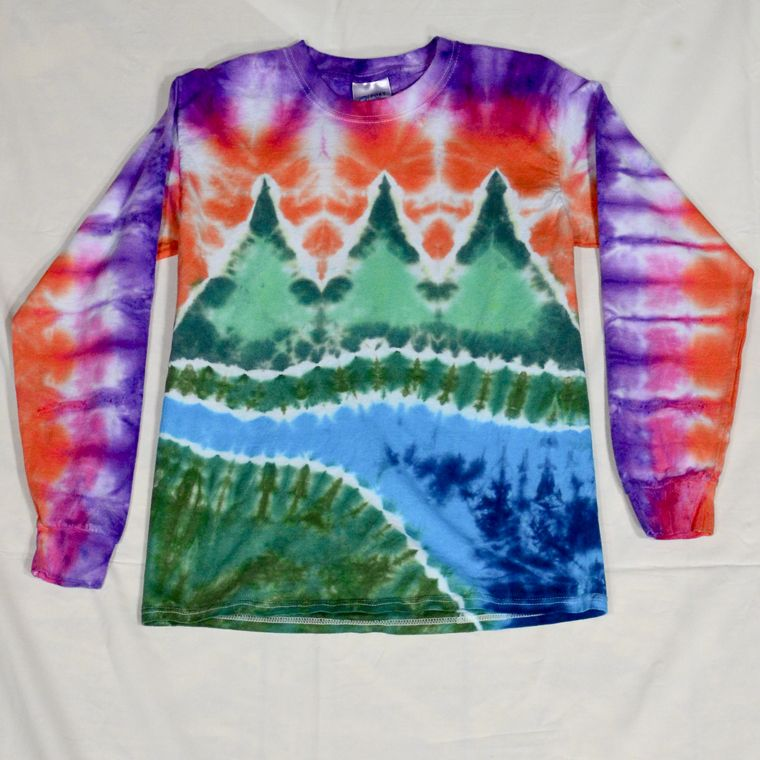 Rags Adult Tie Dye Shirts Storefront. Featuring Cool Tie Dye ...