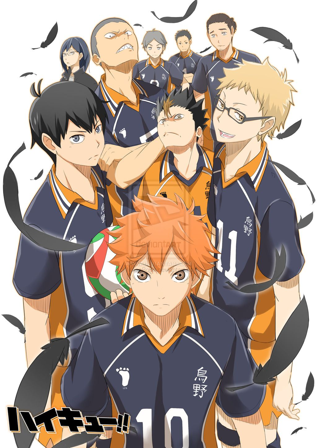 Haikyuu!! 3 by on deviantART