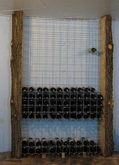 Wine Rack for basement cellar #winerack