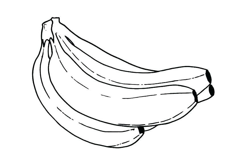 Banana Coloring Pages Best Coloring Pages For Kids Fruit Coloring Pages Flower Coloring Pages Coloring Pages