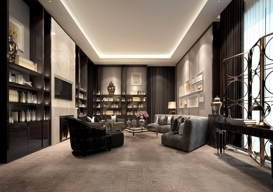 Vip room neoclassical hangzhou china for Vip room interior design