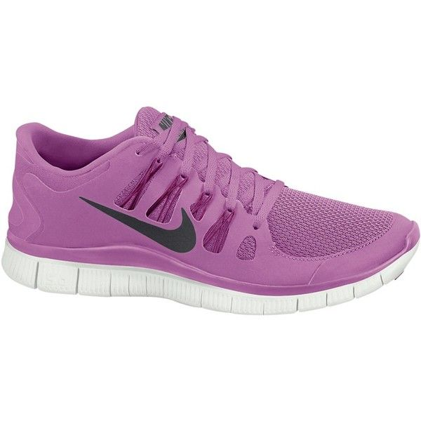 on sale 40157 3e0ec Nike Women s Free 5.0 Running Shoes , Pink (370 LTL) found on Polyvore