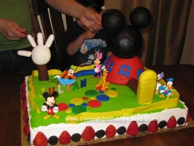 Coolest Mickey Mouse Clubhouse Cake Mickey mouse clubhouse cake
