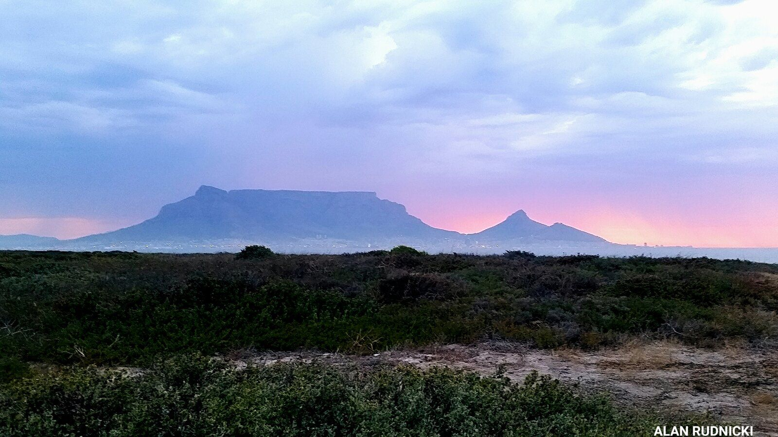WATCH The Most Romantic Cape Town Sunset… Followed by RAIN!!!!