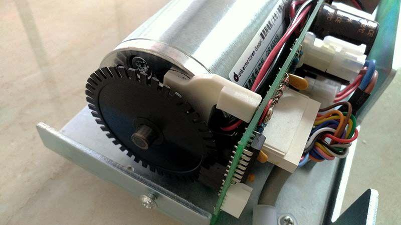 Ec100 Slm Motor Drive Assembly Sanway Technology Automatic Sliding Doors Sliding Doors Kaba