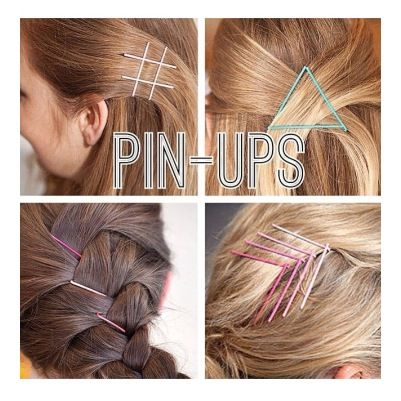 Love these bobby pin ideas! Hair designs with bobby pins!! | hair ...