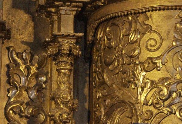 la iglesia del altar de oro en panama city panama   tesoros de este país, el Altar de Oro que se encuentra en la Iglesia ...