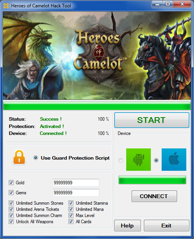 Heroes of camelot hack tool android iOS | Heroes in 2019 | Hacks
