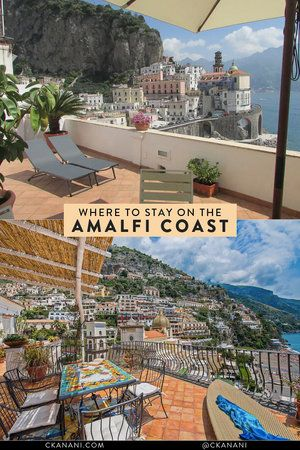 Where To Stay In Amalfi Coast The Best Hotels Villas And