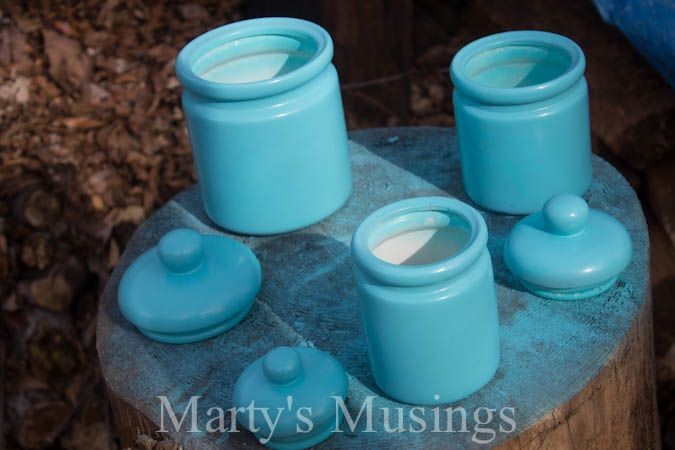 Kitchen Canisters From Marty S Musings