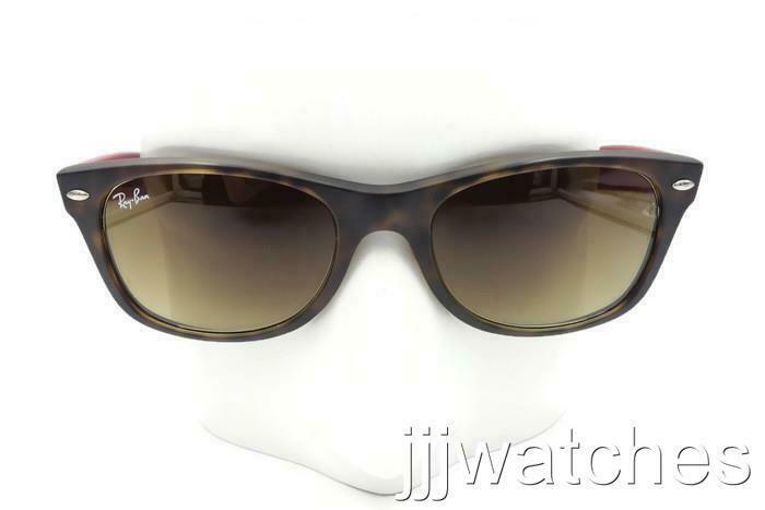 d51737867ac7 eBay #Sponsored Ray Ban NEW WAYFARER BICOLOR Brown Gradient Sunglasses  RB2132 6181/85 52 $158