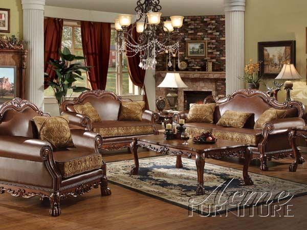 Best Dresden 2 Piece Living Room Set By Acme 15160 S Sofa 400 x 300