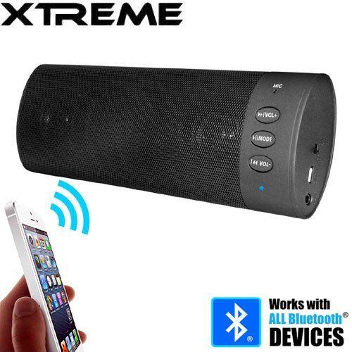 Xtreme Wireless Bluetooth Stereo Speaker. XTREME. WIRELESS BLUETOOTH STEREO SPEAKER. New.