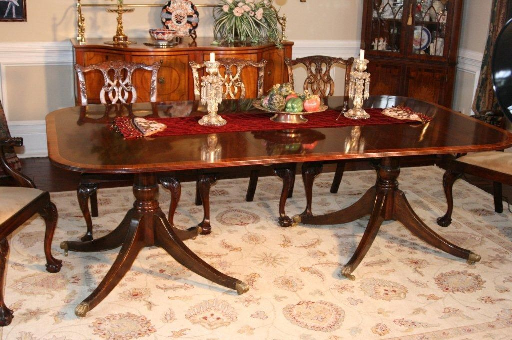 Dining Table Chippendale Style English C 1960 S Dining Table