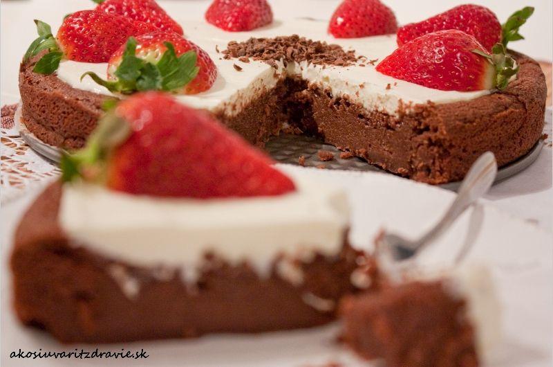 Gaštanovo – čokoládové brownies (bezlepkové)