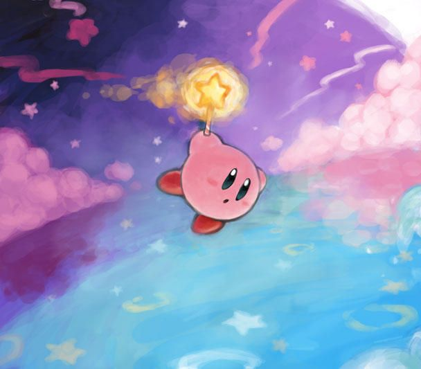 Kirby's Adventure Fountain of Dreams Source Deviantart