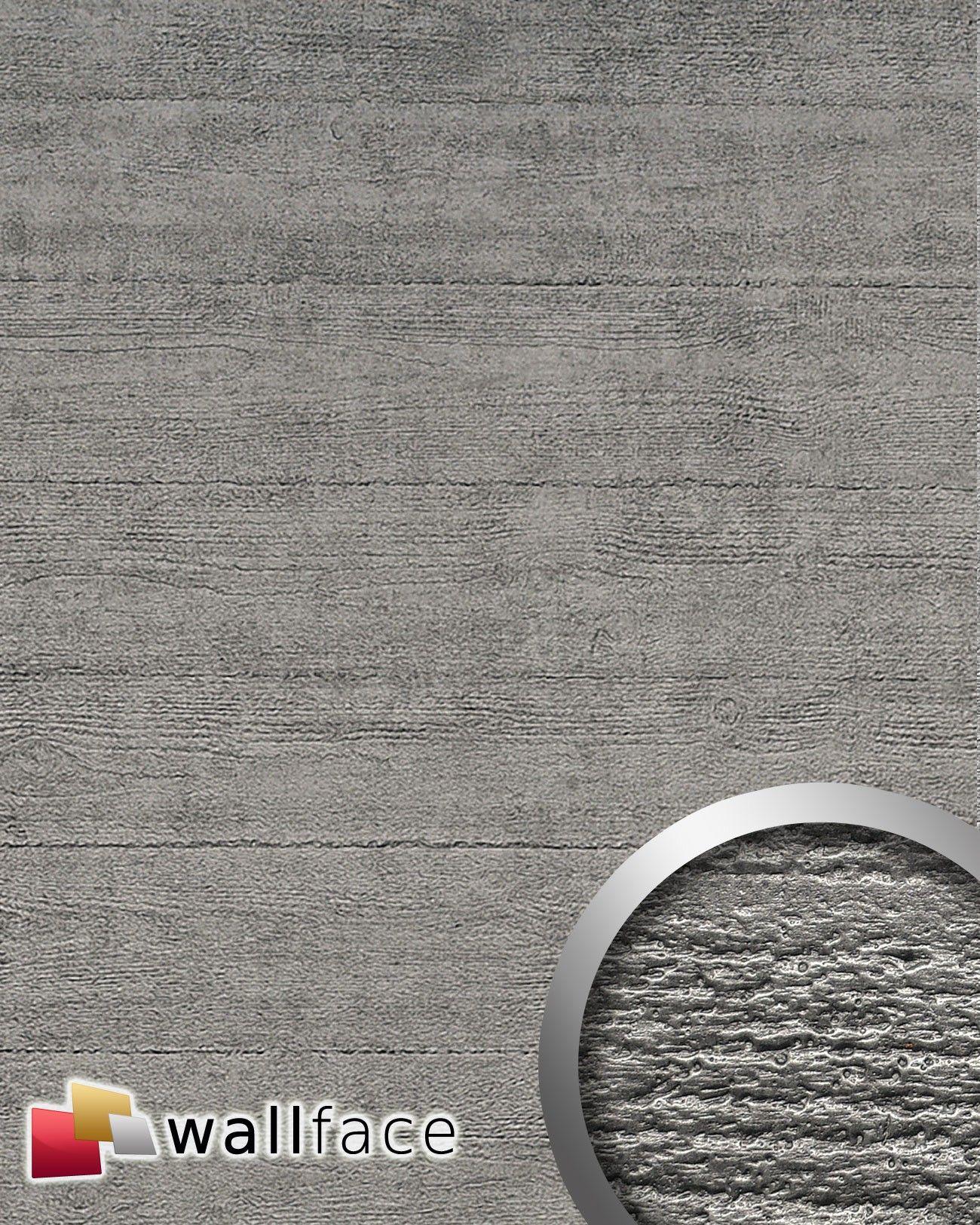 Beton Wandverkleidung beton optik wandverkleidung wallface 14803 beton grau 001