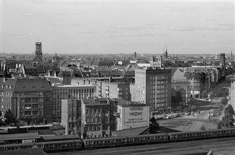1957 Berlin Schoeneberg Mit Dem Innsbrucker Platz Und Links Das