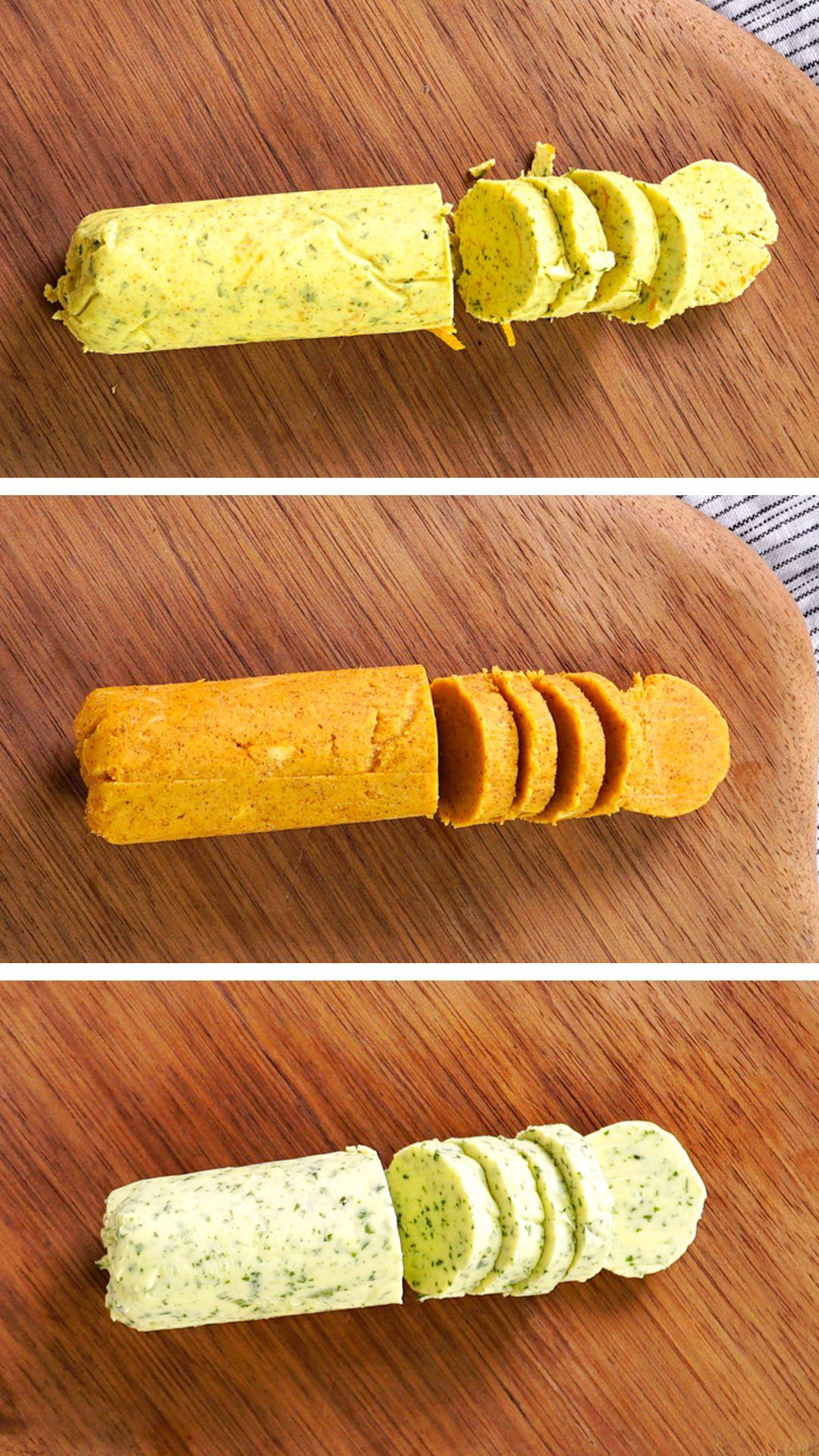 3 Tipos de Manteiga Saborizada