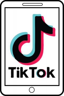Tiktok Logo On Smartphone Mobile Screen Bangkok Thailand 25 December 2020 Free Png Images Icon0 Com I 2021