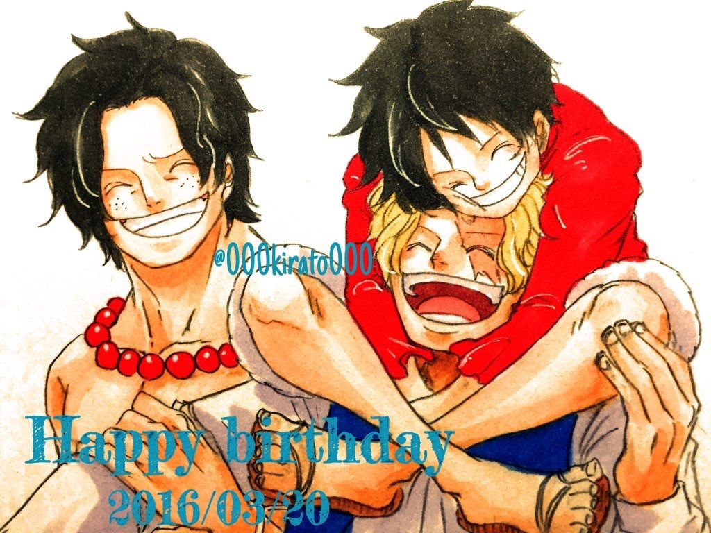 Asl Brothers One Piece Crew One Piece Luffy Ace Sabo Luffy