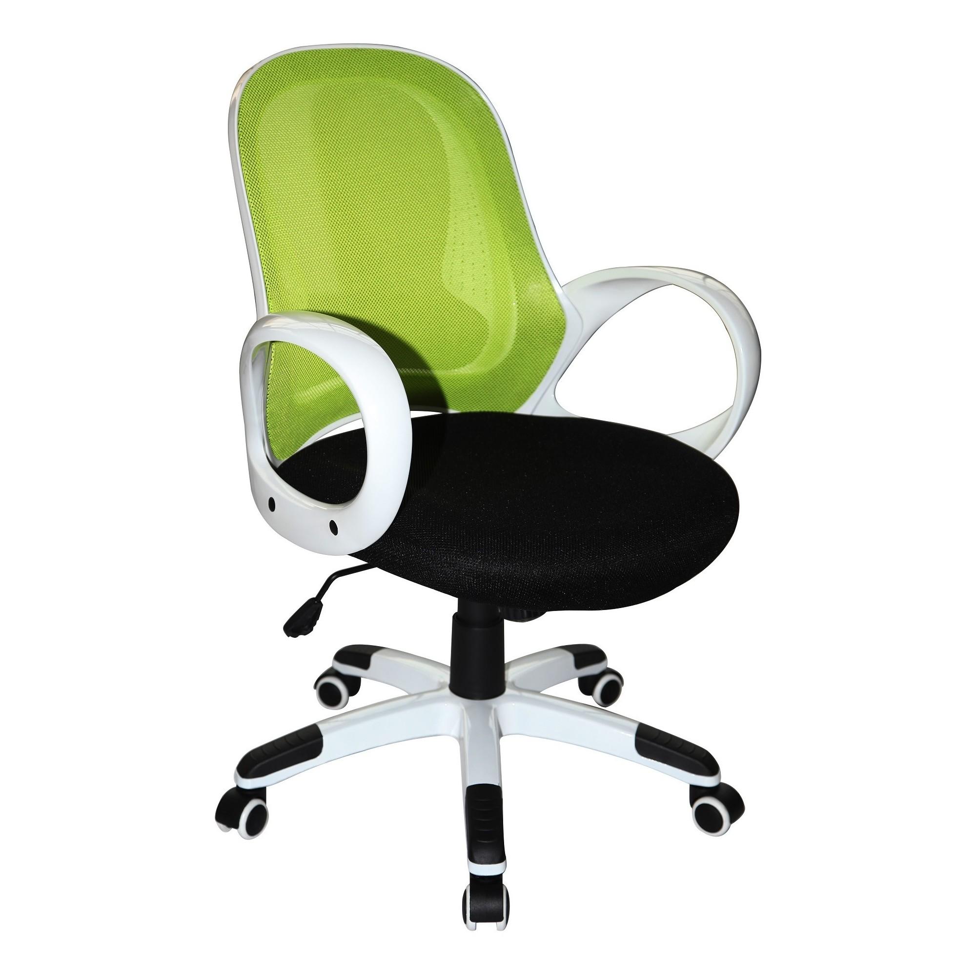 Miraculous Nelson Office Chair Lime Green White Black Boraam Black Uwap Interior Chair Design Uwaporg
