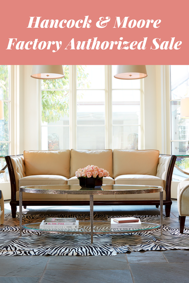 Save On Hancock Moore Furniture Now Through The End Of The Month