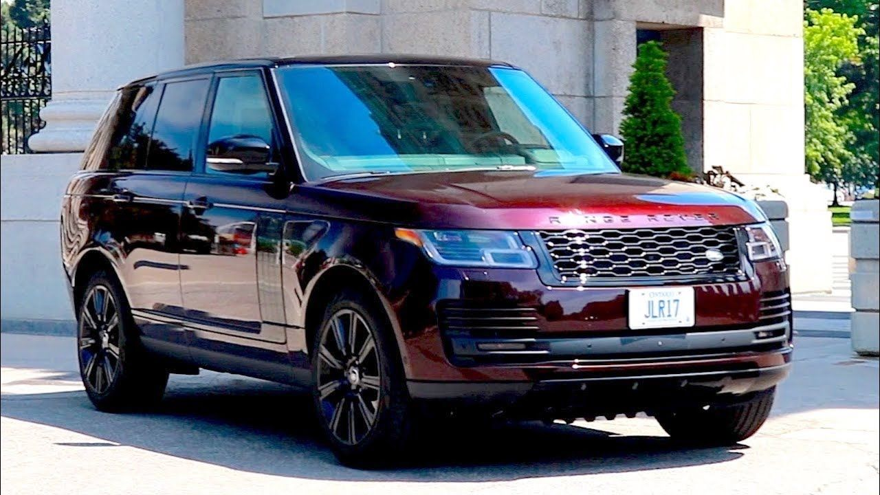 2018 Range Rover Review The Big Dog Range Rover Supercharged Red Range Rover Range Rover Sv