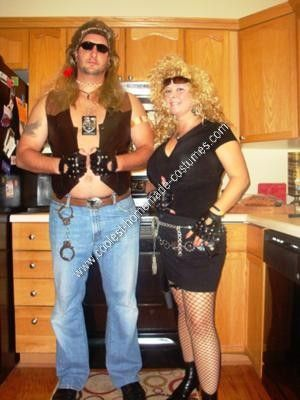 Coolest Homemade Dog The Bounty Hunter And Beth Halloween Costume