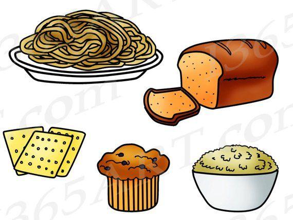 Food printable. Grains clipart clip art