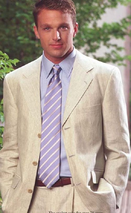 Beach Wedding Attire For Men Linen