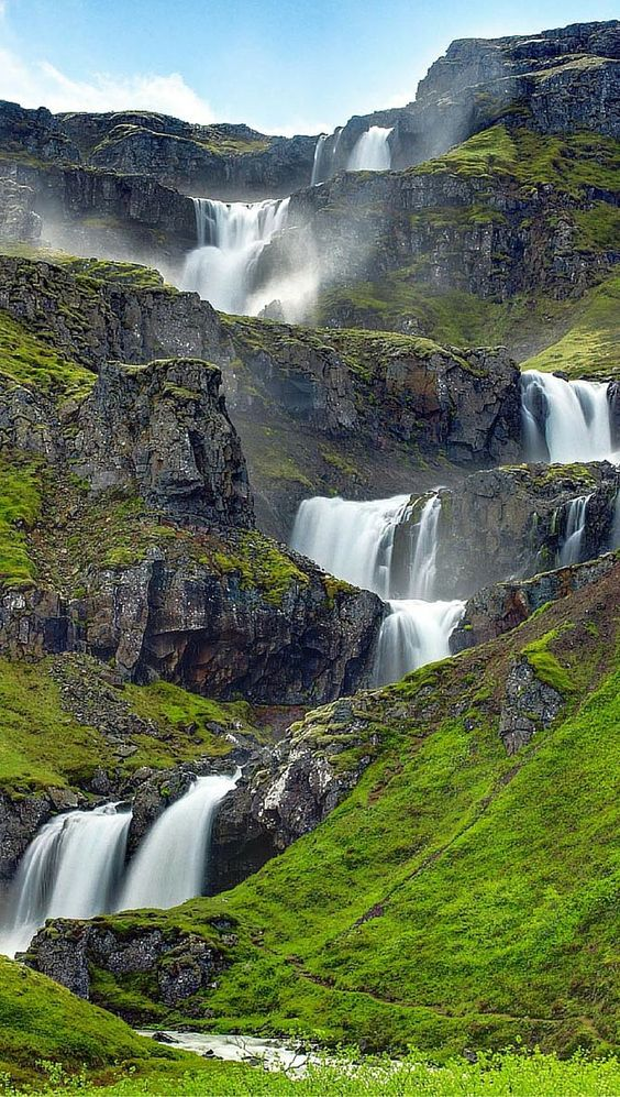 59 Amazing Mysterious Waterfall Landscapes Waterfall Natural Landscape Water Resources Famous Waterfalls Iceland Waterfalls Beautiful Waterfalls Waterfall
